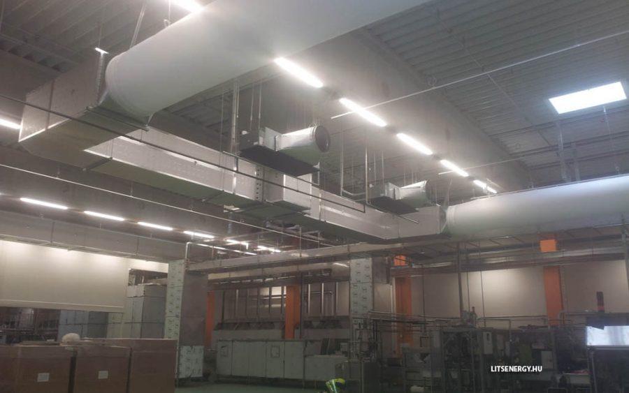 Légtechnika szerelés a garázsok esetében